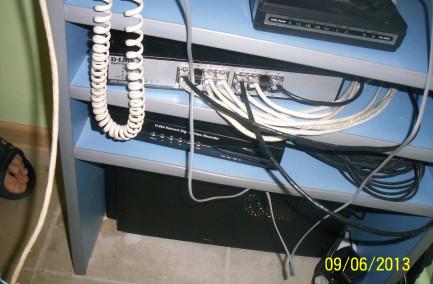Система видеонаблюдения + GSM сигнализация в компьютерном центре NEON
